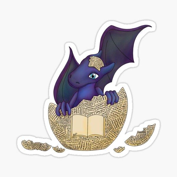 Baby-Bookdragon Sticker