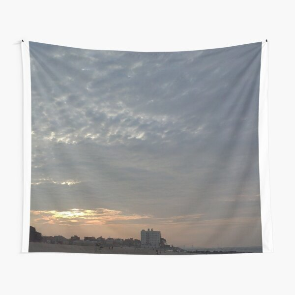 Sky, Clouds, Roofs, heaven, palate, blue, roof of the mouth, sphere Tapestry