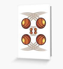 Cool Basketball Phone case Greeting Card