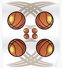 Cool Basketball Phone case Poster