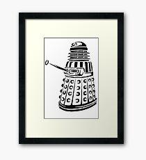 Doctor Who - Dalek Framed Print