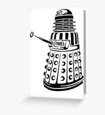 Doctor Who - Dalek Greeting Card