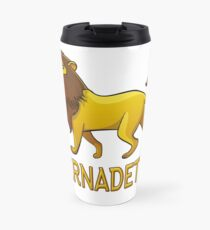 Bernadette Lion Drawstring Bags Travel Mug