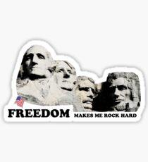 Mt. Rushmore Freedom Appreciation Sticker