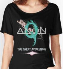 QAnon Great Awakening Deep State by Scralandore Design Women's Relaxed Fit T-Shirt