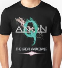 QAnon Great Awakening Deep State by Scralandore Design Unisex T-Shirt