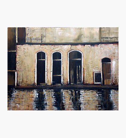 Venice - reflections Photographic Print