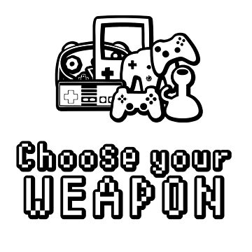 Choose Your Weapon Video Games Controllers by thestash