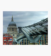 The Millennium Bridge Photographic Print