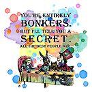 «Tea Party - Cita de Bonkers - Alicia en el país de las maravillas» de maryedenoa
