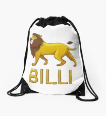 Billi Lion Drawstring Bags Drawstring Bag