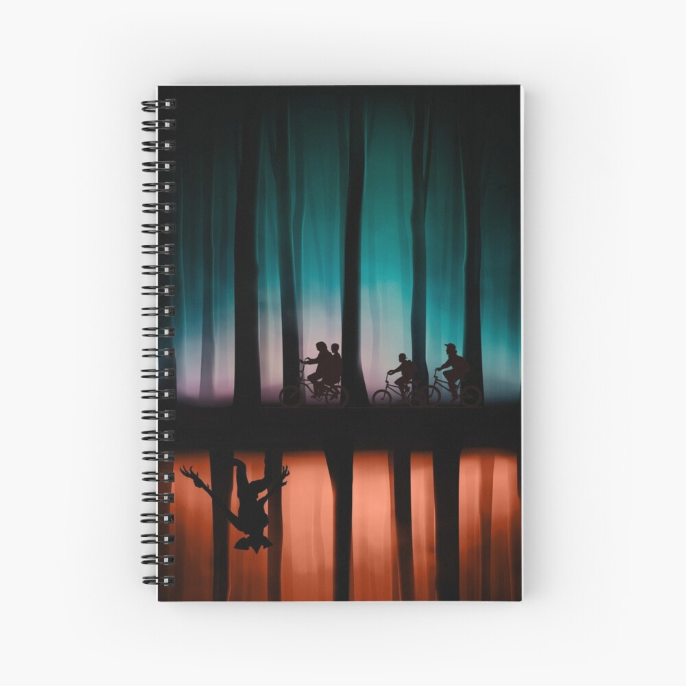 Stranger Things Spiral Notebook