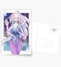 Giant Woman Postcards