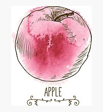 fresh useful eco-friendly apple Photographic Print