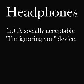 Headphones by Absolute-Rage