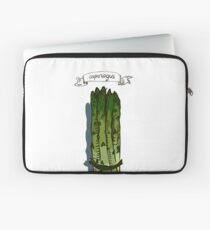 watercolor hand drawn vintage illustration of asparagus Laptop Sleeve