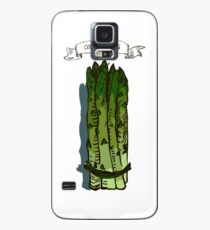 watercolor hand drawn vintage illustration of asparagus Case/Skin for Samsung Galaxy