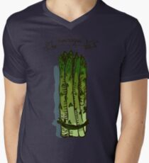 watercolor hand drawn vintage illustration of asparagus T-Shirt