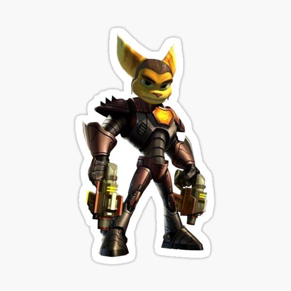 Trinquete y Clank Gladiador Pegatina