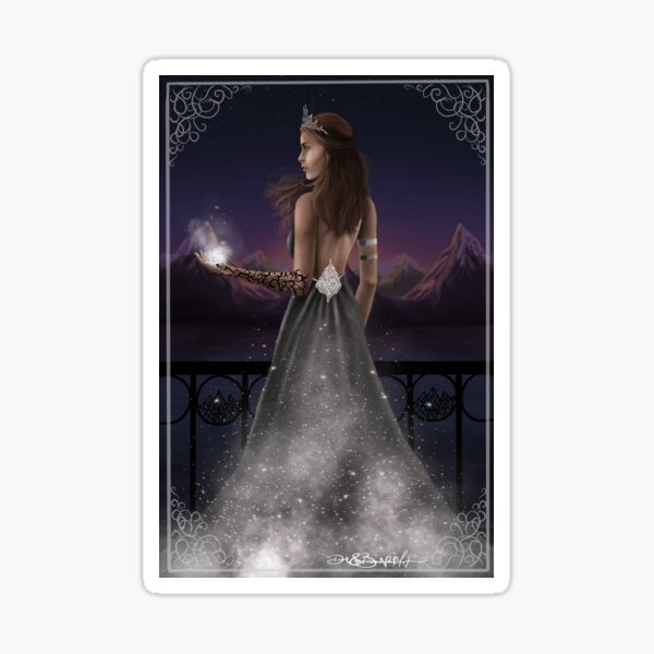 High Lady of the Night Court  Sticker