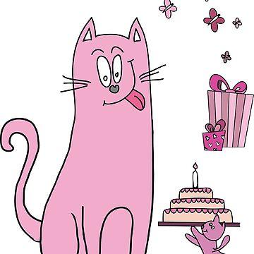 Happy Birthday My Dear Cat by soulwhispherer