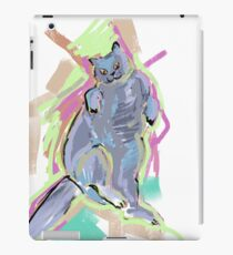 Crazy cool cat iPad Case/Skin