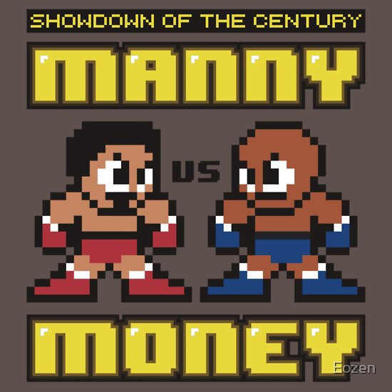 TShirtGifter presents: Mega Manny vs. Mega Money | Unisex T-Shirt