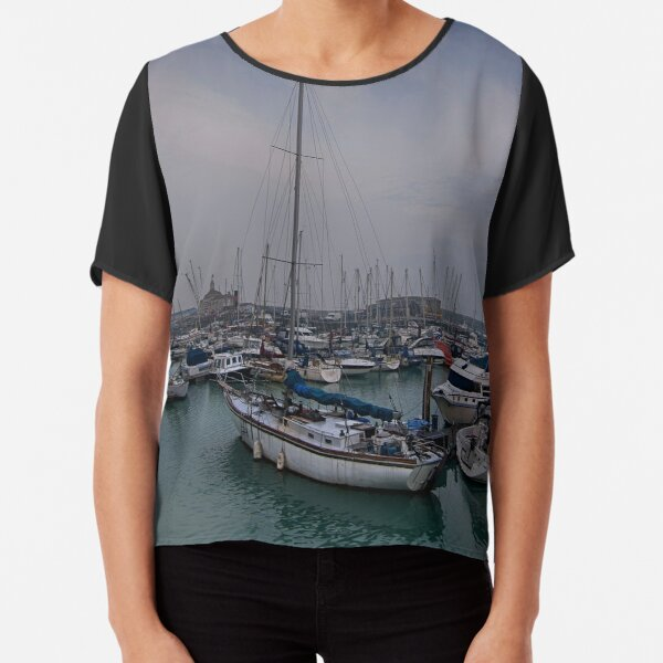 Ramsgate Harbour Chiffon Top