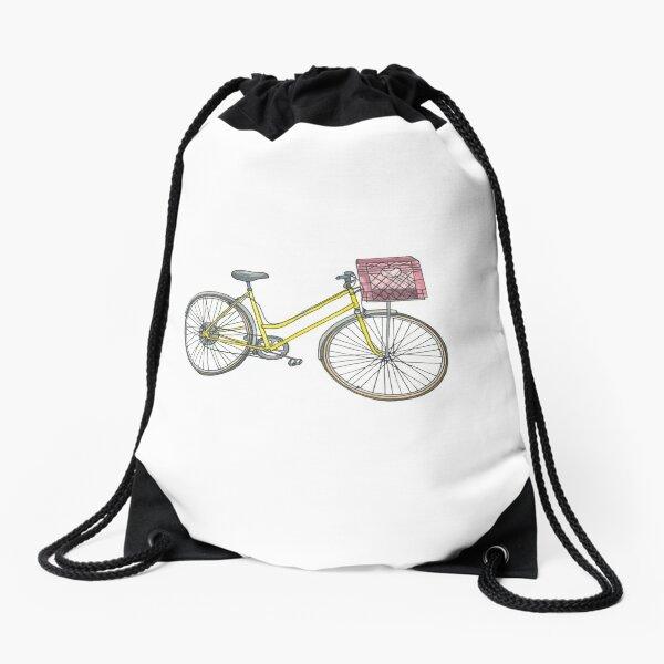 Bicycle, Bicycle, Bicycle Drawstring Bag