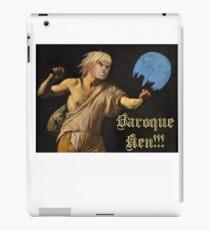 Baroque Ken iPad Case/Skin