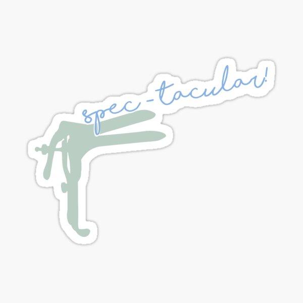 Spec-tacular! Sticker