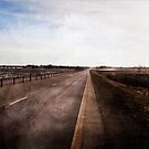 Just a road by Olav Lunde