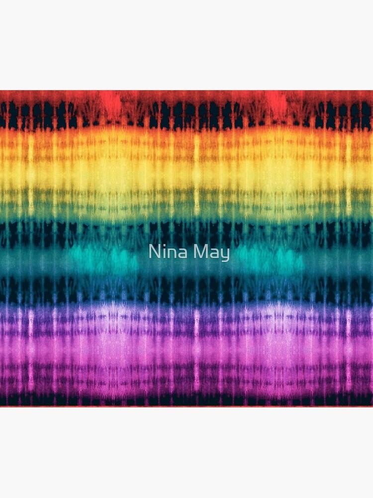 Jeweled Rainbow Shibori by ninabmay