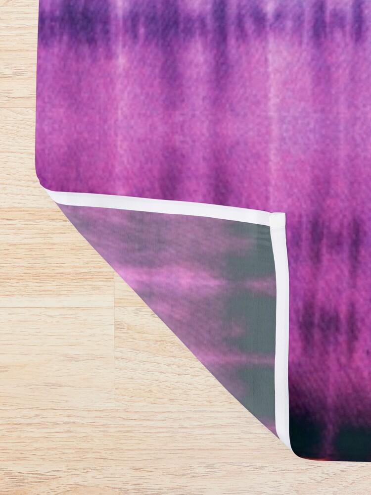 Alternate view of Jeweled Rainbow Shibori Shower Curtain