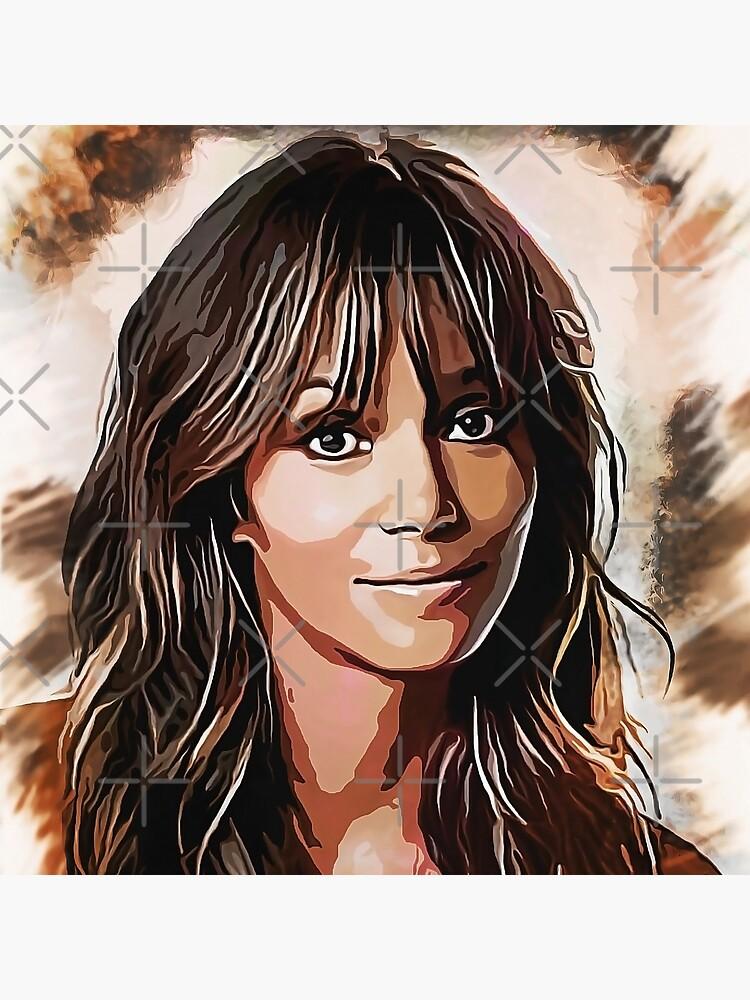 Halle Berry - portrait by Naumovski