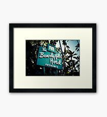 Beverly Hill Hotel Framed Print