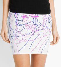 Tongue Pop/Art Mini Skirt