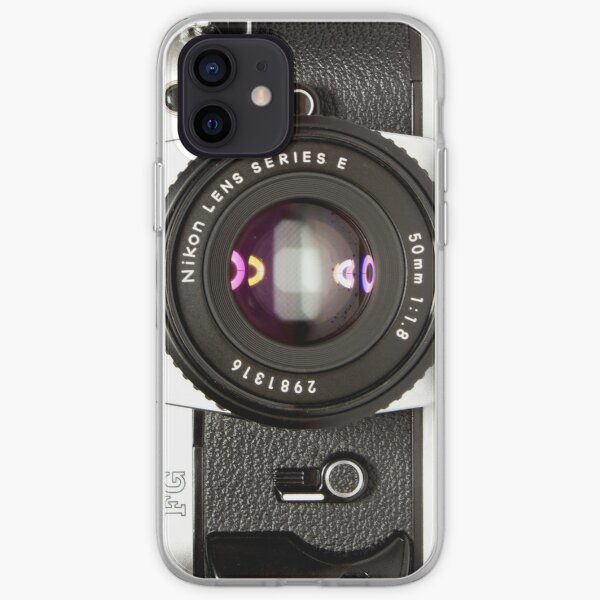 Nikon Camera FG iPhone Soft Case