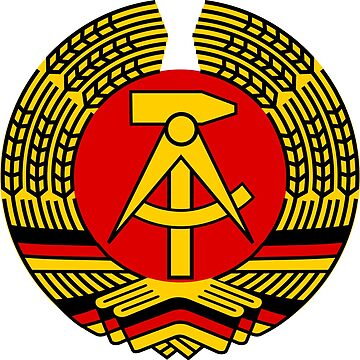 East German Emblem by UraniusMaximus