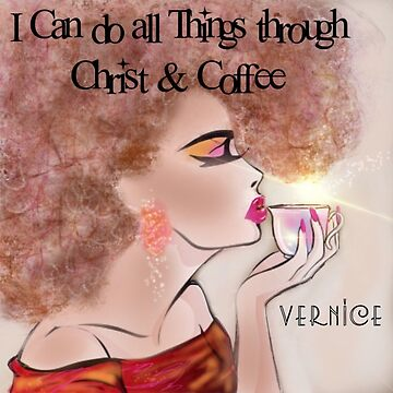 Christ & Coffee by vernice2018