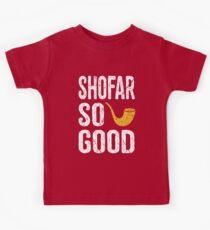 Rosch Hashanah Shofar So gut lustige jüdische Geschenke Kinder T-Shirt