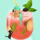 Cocktail Mermaid by Titta Lindström