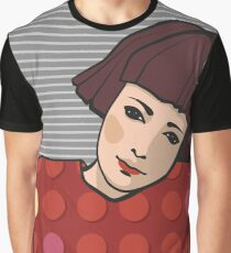 Girl with short hair Graphic T-Shirt