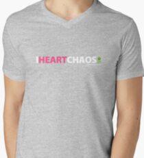 I Heart Chaos Men's V-Neck T-Shirt