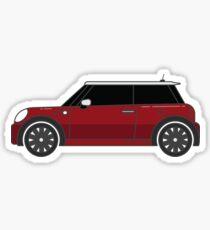 MINI Cooper Hardtop Blazing Red Gen 2 Sticker