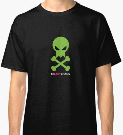 I Heart Chaos Skull Tee Classic T-Shirt