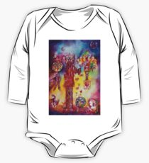 GARDEN OF THE LOST SHADOWS ,FAIRIES AND BUTTERFLIES One Piece - Long Sleeve