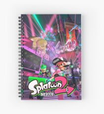 Splatoon 2 Spiral Notebook