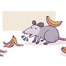 Banana Possum by CruznCreations