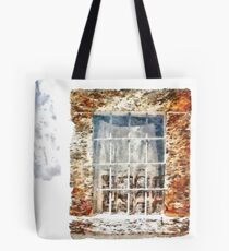 Window With Shadow On The Wall Tote Bag